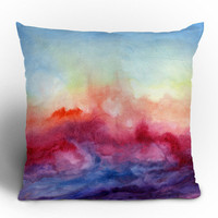 Jacqueline Maldonado Arpeggi Throw Pillow