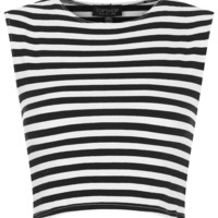 Stripe Stretch Crop Top - New In This Week - New In - Topshop USA