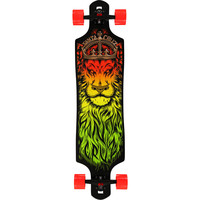 Santa Cruz Lion God Drop Through 40 Cruiser Skateboard  at Zumiez : PDP
