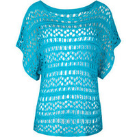 FULL TILT Open Weave Womens Sweater 191759241 | tops | Tillys.com