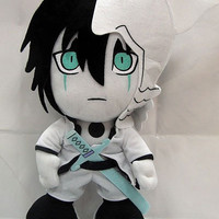 "Bleach: ""Plush - Ulquiorra Sad 12in (30cm)"" : TokyoToys.com: UK Based e-store, Anime Toys Retail & Wholesale, Manga Action Figures,  Hentai Statues, Japanese Snacks, Pocky, DVDs, Gashapon,  Cosplay, Monkey Shirt, Final Fantasy, Bleach, Naruto, Death Note,"