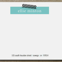 Bar Graph Business Stationery Cards by Susan at Minted.com