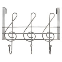 Music Notes Hanger - Chrome