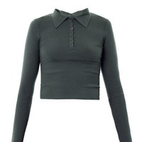 Cropped fitted sweater | Azzedine Alaïa | MATCHESFASHION.COM