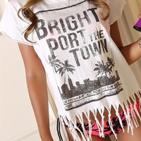 Hawaii Fringe T-shirt