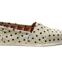 Natural Hemp Polka Dots Women's Classics