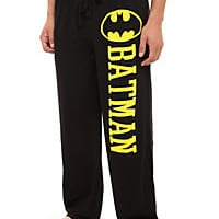 DC Comics Batman Men's Pajama Pants | Hot Topic
