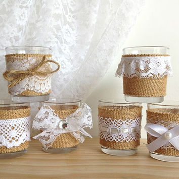 ... candles, bridal shower decor, wedding decoration, home decor or gift