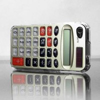 Retro Calculator Apple iPhone 4G Custom Case by RecordWallets