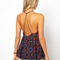 ASOS Petite | ASOS PETITE Exclusive Backless Cami in Print at ASOS