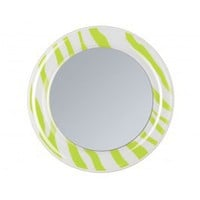 Lime/White Locker Mirror