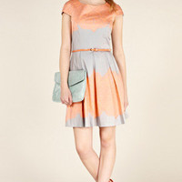 Oasis Shop | Pale Grey Lace Tile Print Dress | Womens Fashion Clothing | Oasis Stores UK