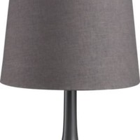 CB2 - grigio table lamp