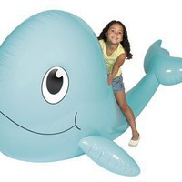 72 HUGE Inflatable JUMBO WHALE/Party DECOR/VBS/JONAH/Sperm WHALE/TOY Decoration/SEA LIFE