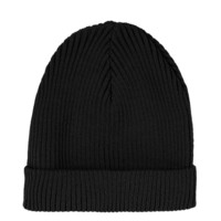 Black Turnup Beanie - Hats - Bags & Accessories - Topshop USA