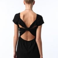 Sparkle &amp; Fade Knit Bow Back DressOnline Only!