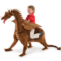 The 4 Foot Heirloom Dragon - Hammacher Schlemmer