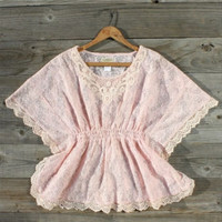 Cascading Lace Blouse, Sweet Country Inspired Clothing