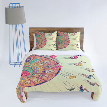 DENY Designs Home Accessories | Shannon Clark Dizzying Heights Duvet Cover