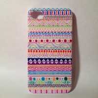 Handmade Tribal Aztec iPhone 4/4s Case