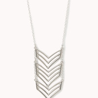 Cascading Chevron Necklace