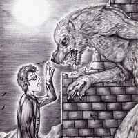 The Doctor and The Werewolf Art Print by Furiarossa