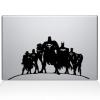 Justice League Macbook Decal | The Decal Guru