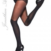 Jonathon Aston Unzipped Tights - Tights, Stockings, Shapewear and more -  MyTights.com - The Online Hosiery Store