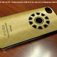 Iron Man Logo Gold - iPhone 4 / iPhone 4S / iPhone 5 Case Cover
