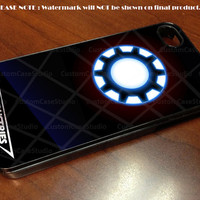 ironman heart stark industries - iPhone 4 / iPhone 4S / iPhone 5 Case Cover