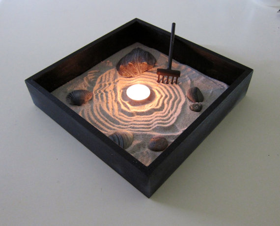 Zen garden decor mini garden from paintspiration on wanelo for Mini zen garden designs
