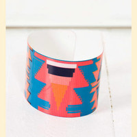 Abstract Metal Cuff                    - Francesca's Collections