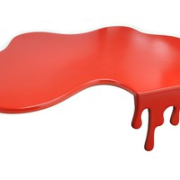 Splash Red Chopping Board - mzube, Unusual, Retro, Unique Gift Ideas