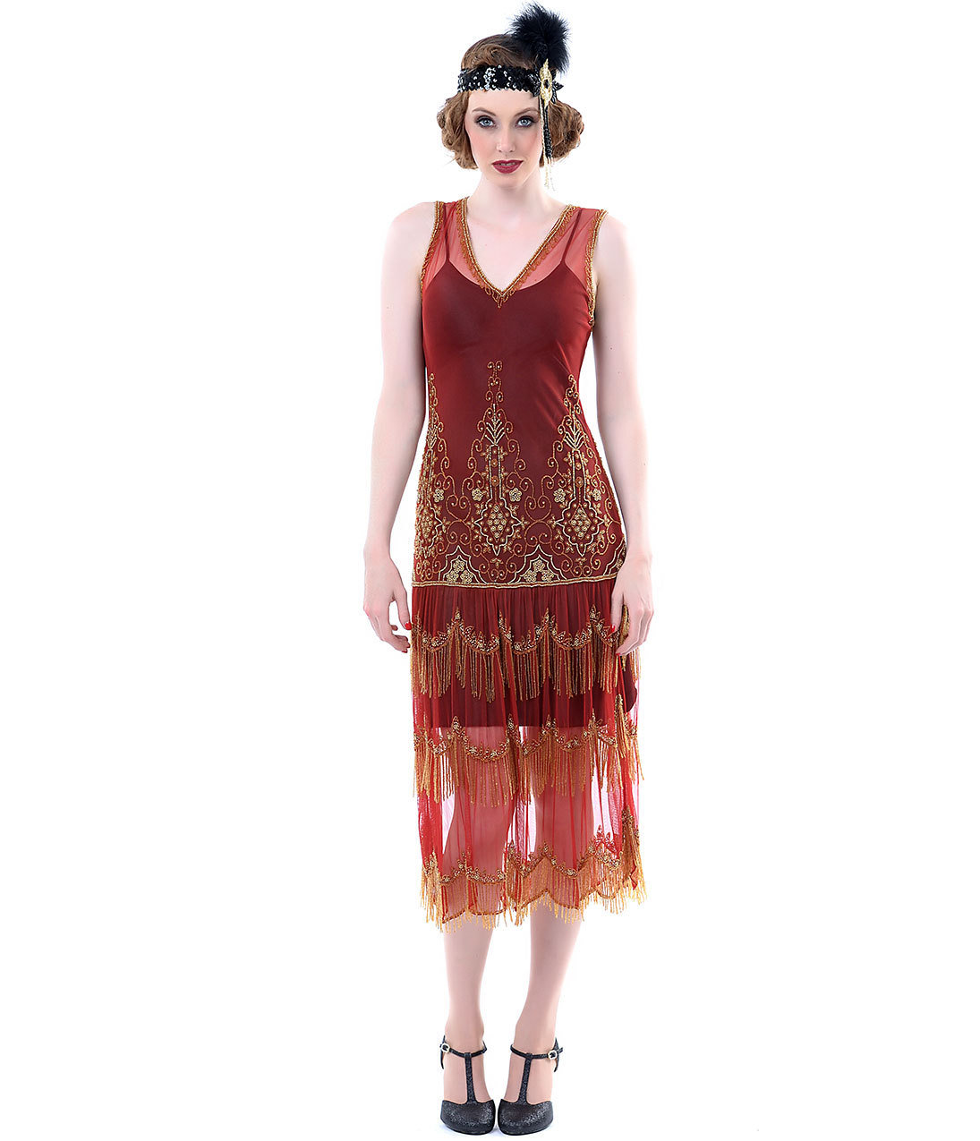 Flapper Inspired Prom Dresses Plus Size Prom Dresses