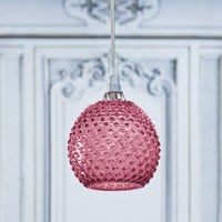Pink Diamond Tip Hanging Lamp