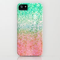 Summer Rain Merge iPhone & iPod Case by Lisa Argyropoulos