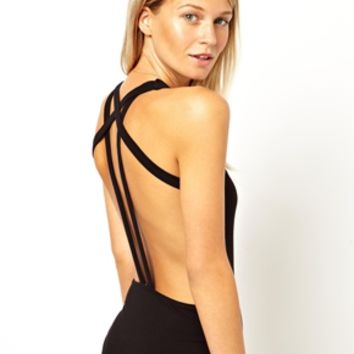 ASOS Body with Slanted Strappy Back at asos.com