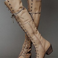 Jeffrey Campbell for Free People Womens Joe Lace Up Boot