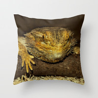 MY MOTHER THINKS I'M CUTE Throw Pillow by catspaws