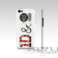 5SOS and 1D iPhone Hard Case available for iPhone 4, iPhone 5, Samsung S3 or  S4.  Full printed high quality case.  5 seconds of summer
