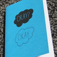 the fault in our stars okay mini sketchbook by heykatiedesigns