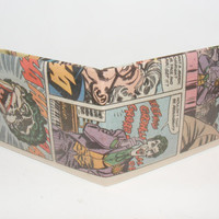 Comic Book Wallet// Joker
