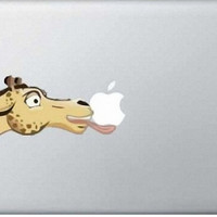 Giraffe Decal Mac Decals Macbook Sticker MacBook by DecalsandSuch