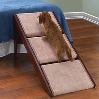 The Pet Ramp And Staircase - Hammacher Schlemmer