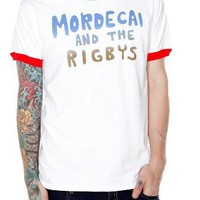 Regular Show Mordecai And The Rigbys Ringer T-Shirt