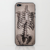 Skeleton  iPhone & iPod Skin by Kit King