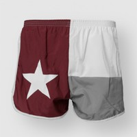 TEXAS FLAG SHORT A&M - Bottoms - Womens