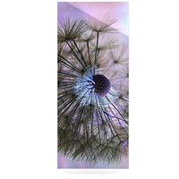 "Alison Coxon ""Dandelion Clock"" Luxe Rectangle Metal Art 