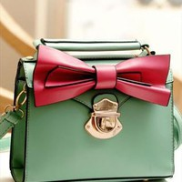 Latest Leisure Bowknot Crossbady Bag Handbag from styleonline