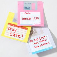 fredflare.com | 877-798-2807 | floppy disc sticky notes